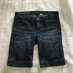 j Crew Matchstick bermuda shorts